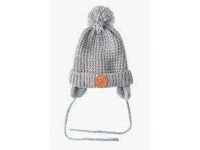 Kojenecká zimní čepice s podšívkou