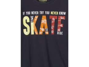 Chlapecké tílko Skate (v tmavě modré a červené variantě)