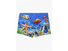 Chlapecké plavky s potiskem Mořský svět