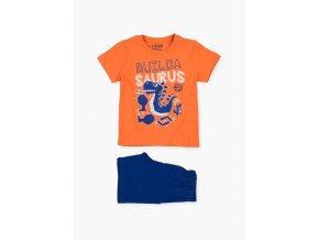 Chlapecký komplet Dino - tričko krátký rukáv a kraťasy