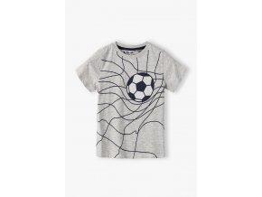 Chlapecké tričko krátký rukáv s potiskem Fotbal