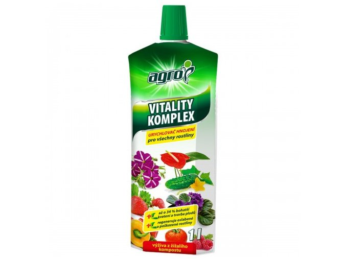 Urychlovač hnojení pro všechny rostliny  1L