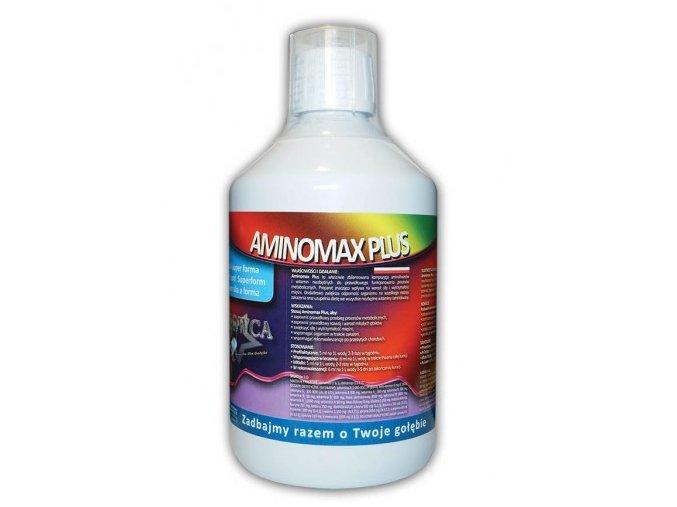 Doplńkové krmivo pro holuby - Aminomax Plus 500ml Mrowca