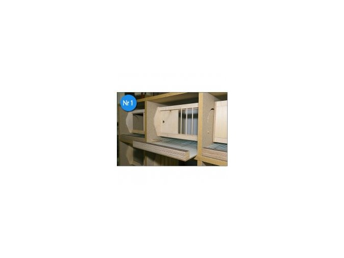 725 budnik pro holuby s otocnou mrizkou a rostem typ e