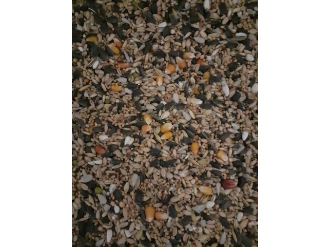 Krmivo pro venkovní ptactvo  - směs do krmítka