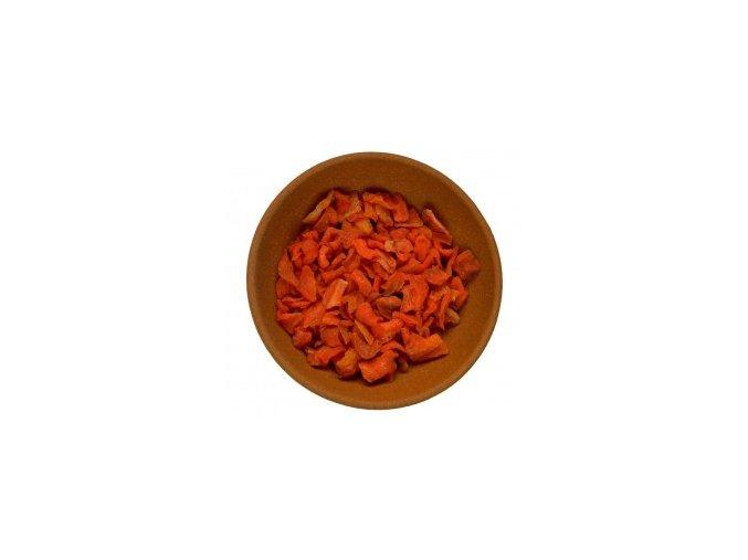 Mrkev sušená plátky