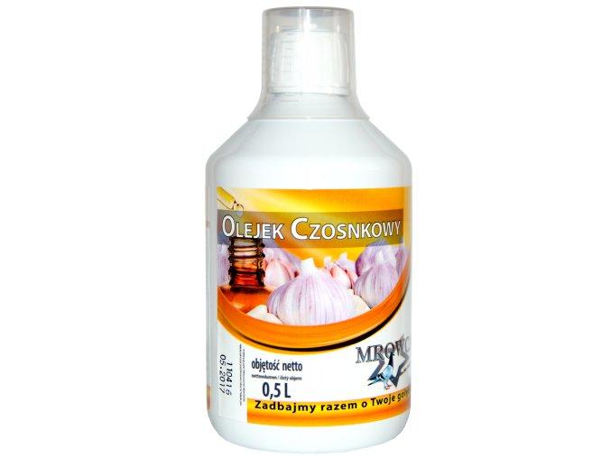 Česnekový olej500ml