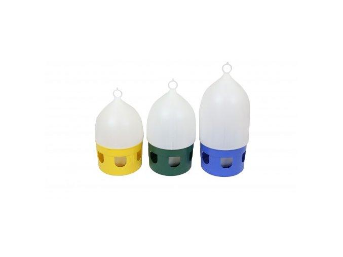 Napáječka plastová s uchem  pro holuby 5l tip K