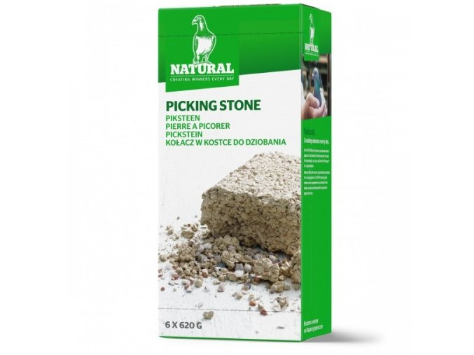Picking Stone 6 x 620g Natural