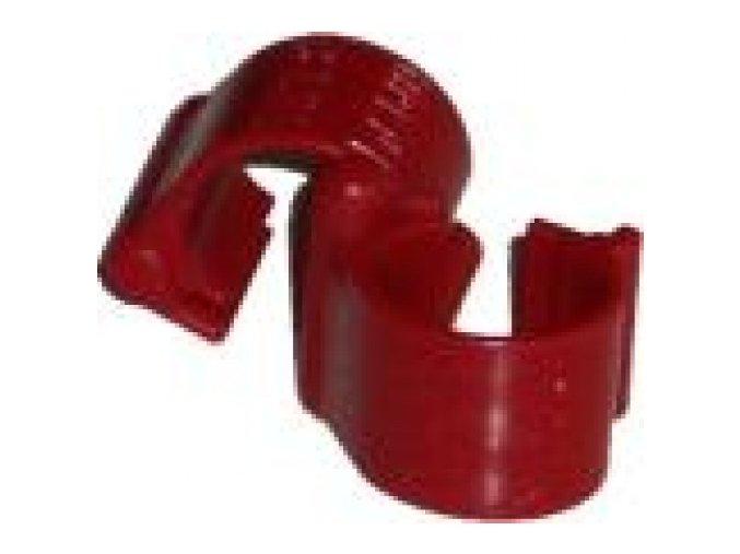 TIPES - Elektronický kroužek MC 603 červený