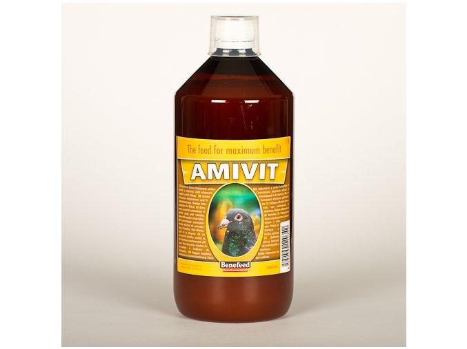 Doplńkové krmivo pro holuby - AMIVIT holub 1000 ml Benefeed