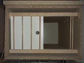 Budník pro holuby s přestavnou mřížkou bez roštu  Nr2B