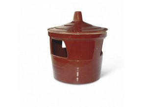 Napáječka - keramická , hlíněná , glazurovaná 1,5l