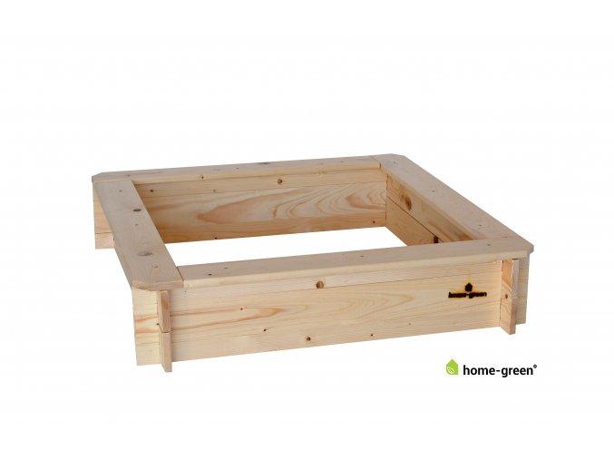 Dřevěný vyvýšený záhon