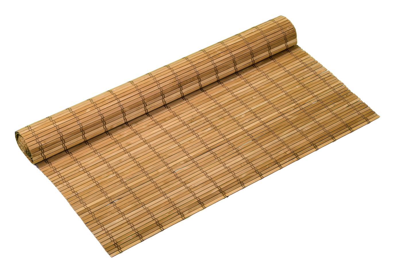Bambusové rohože HNĚDÉ