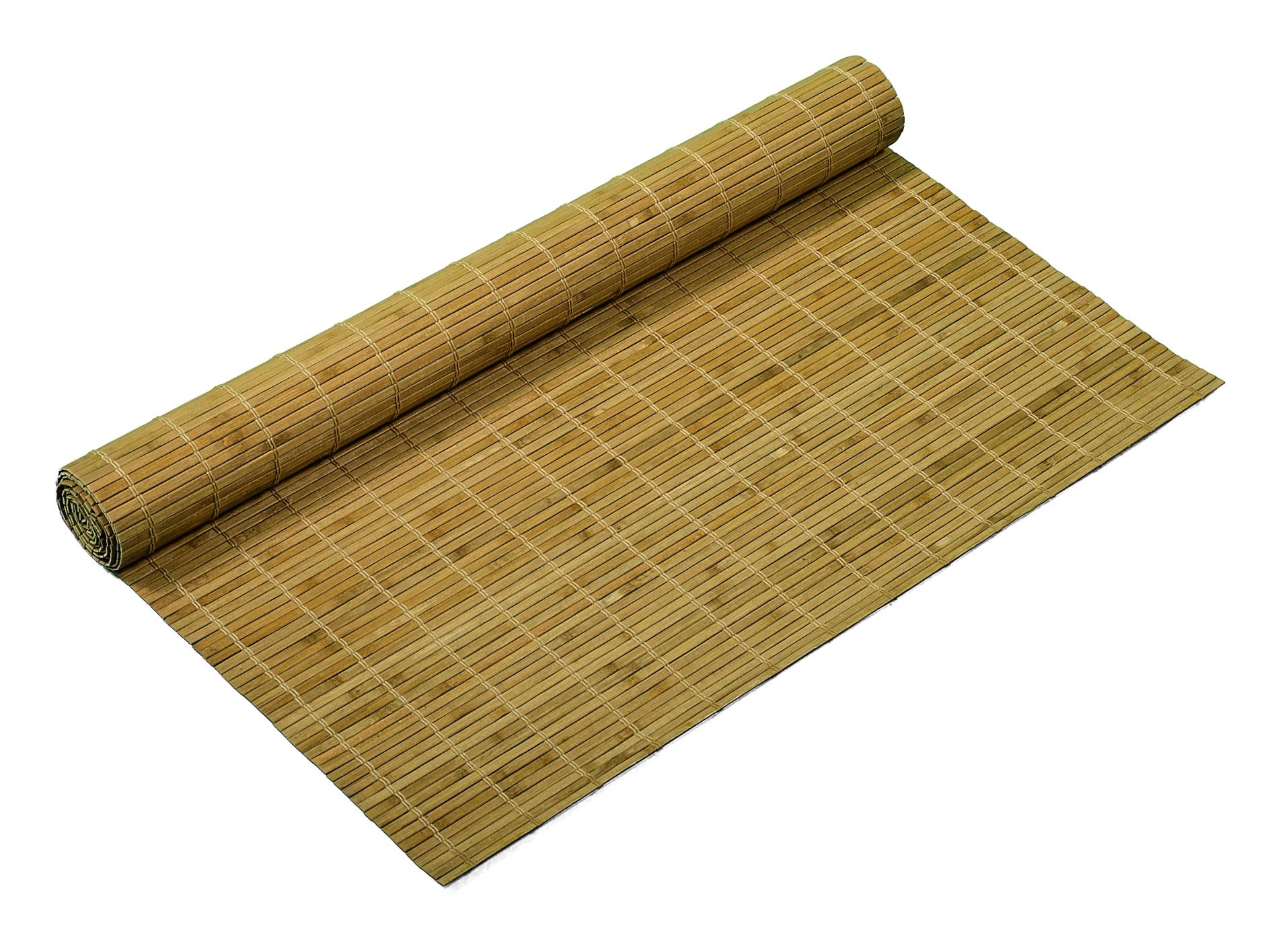 Bambusové rohože OŘECH SVĚTLÝ
