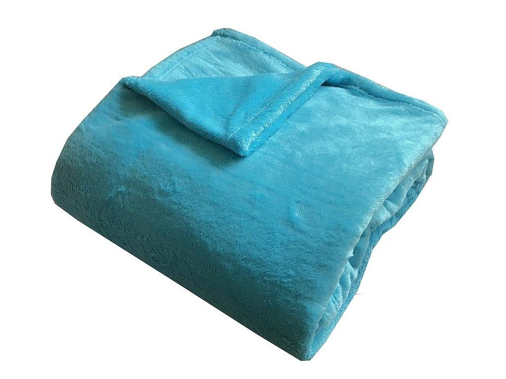 Super soft deka Dadka tyrkys 150x200 cm