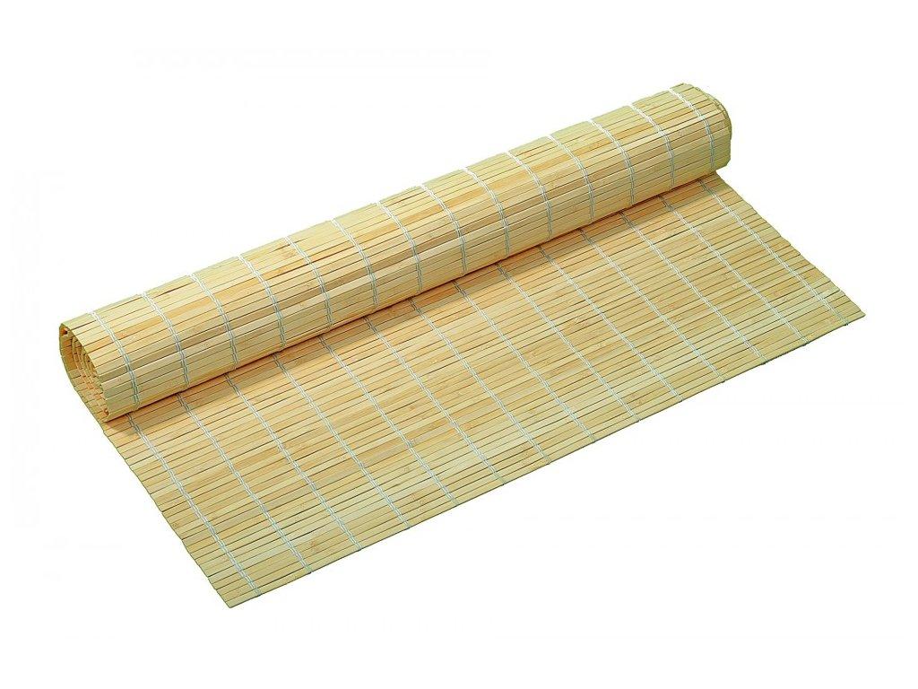 Bambusová rohož na stěnu přírodní