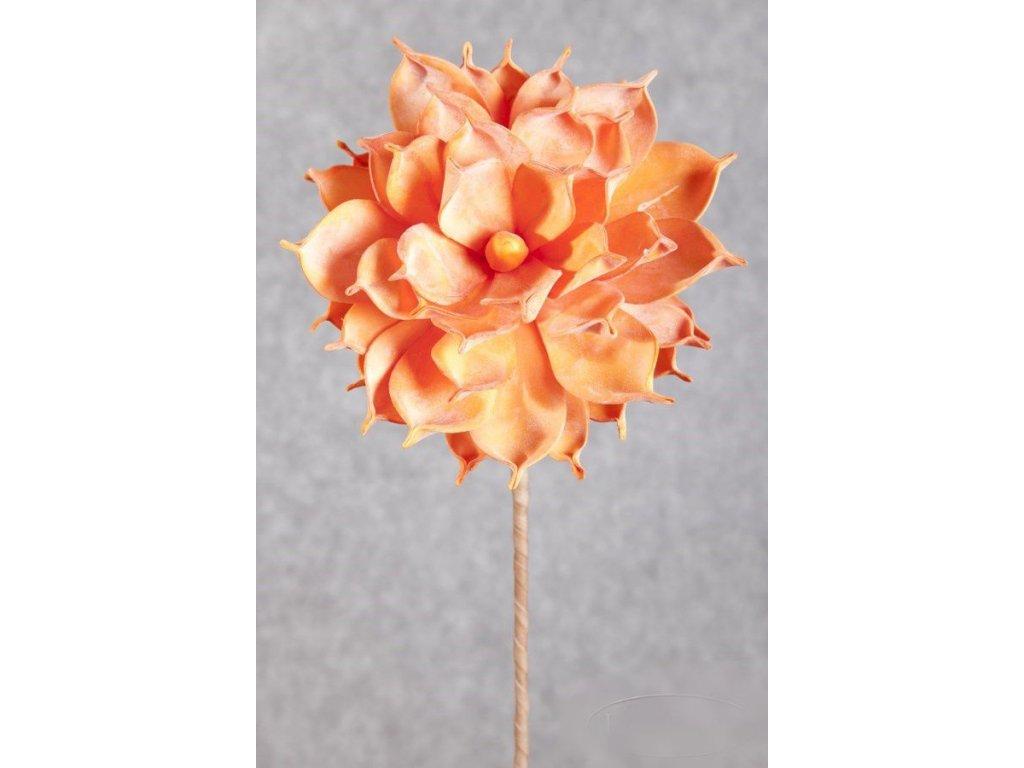 Umělá květina 150 oranžová