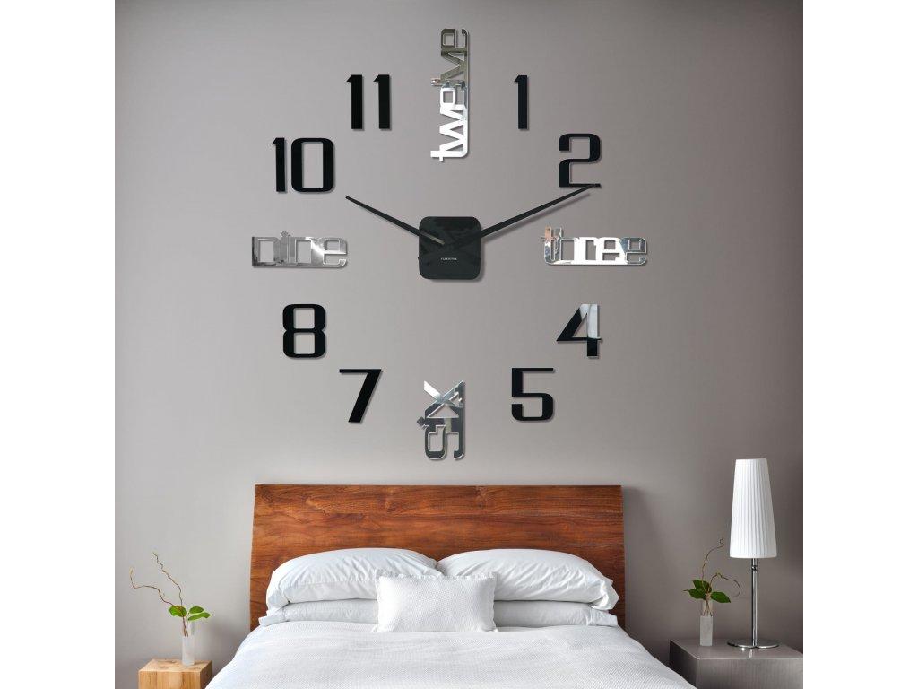 Nástěnné hodiny DIY Admirable6 100-130cm
