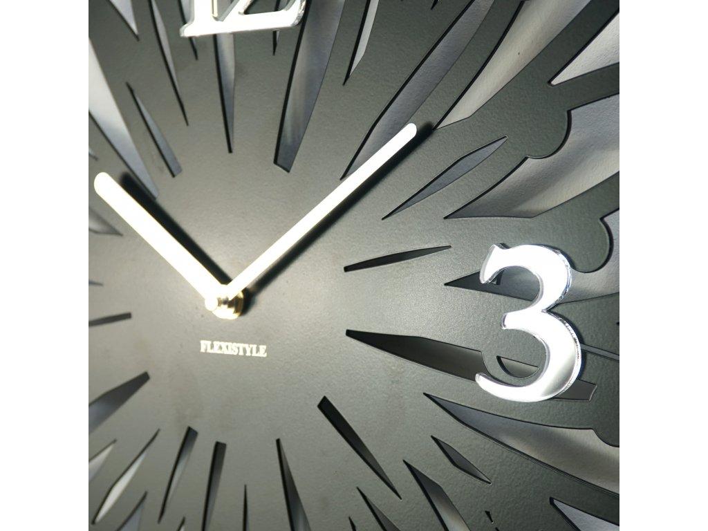 Nástěnné hodiny kovové Finezza 50cm