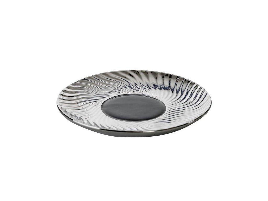 Dekorativní talíř MAGNUM 27 cm Černý