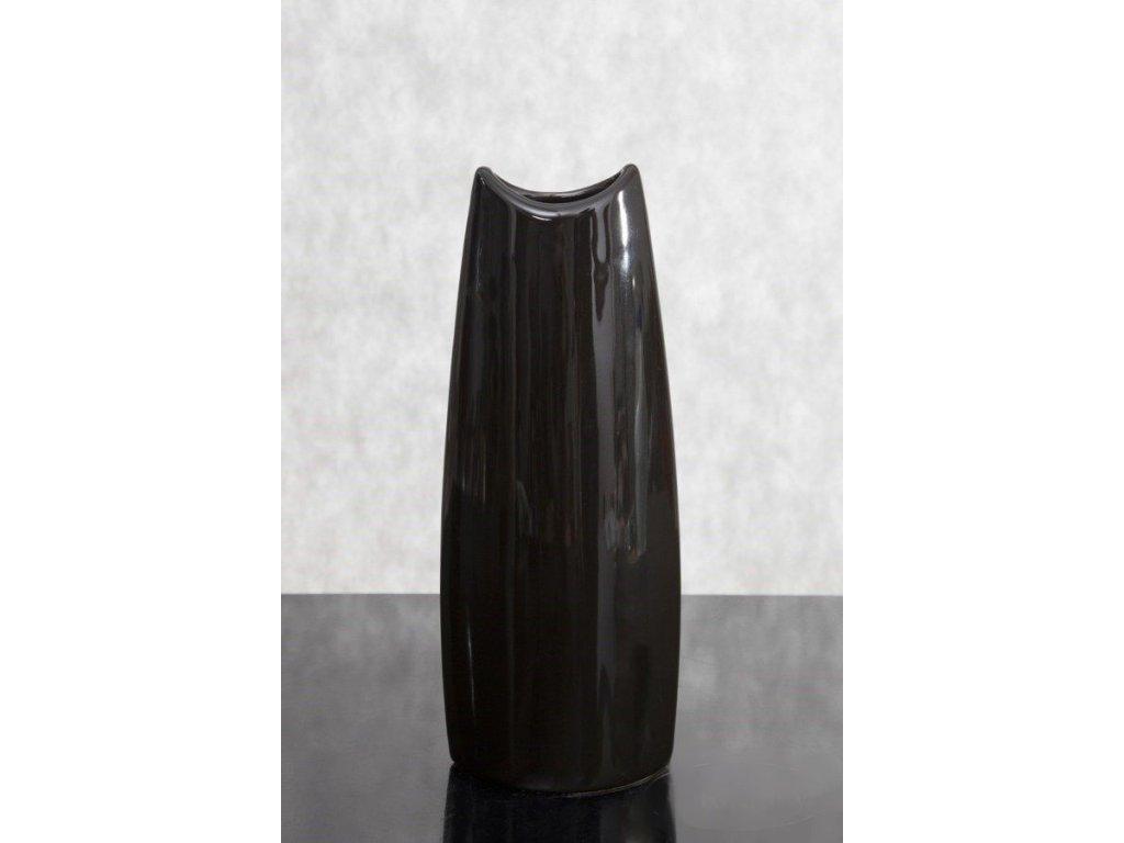 Váza IVO Černá 34 cm