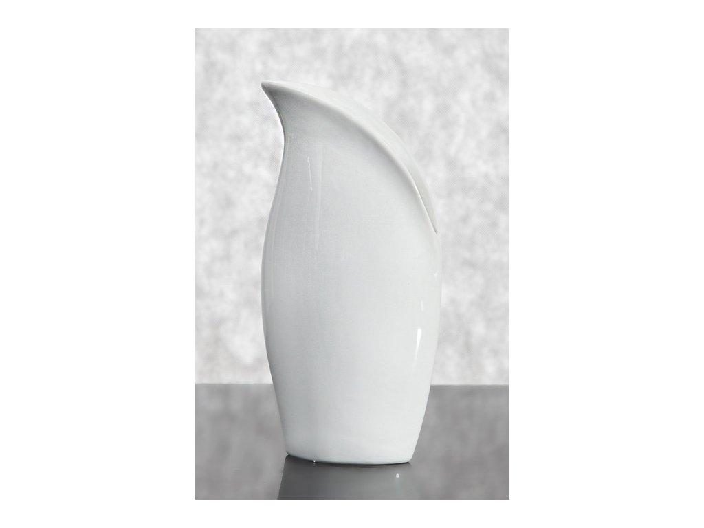 Keramická váza TANGO 05 Krémová  26 cm
