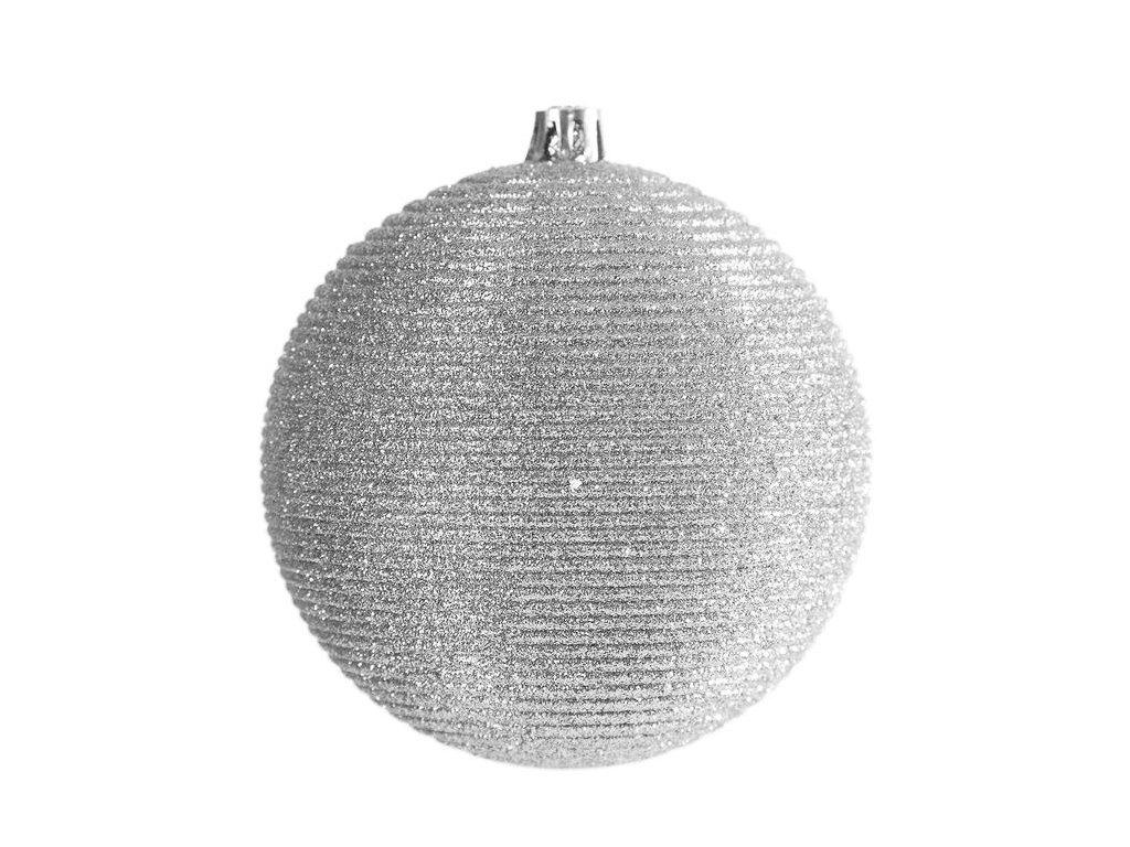Vánoční ozdoba LINA stříbrná 8