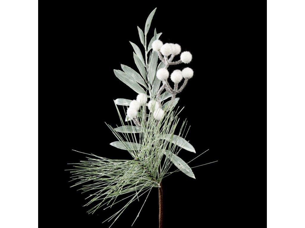 Vánoční dekorační větvička RICKY 34 cm