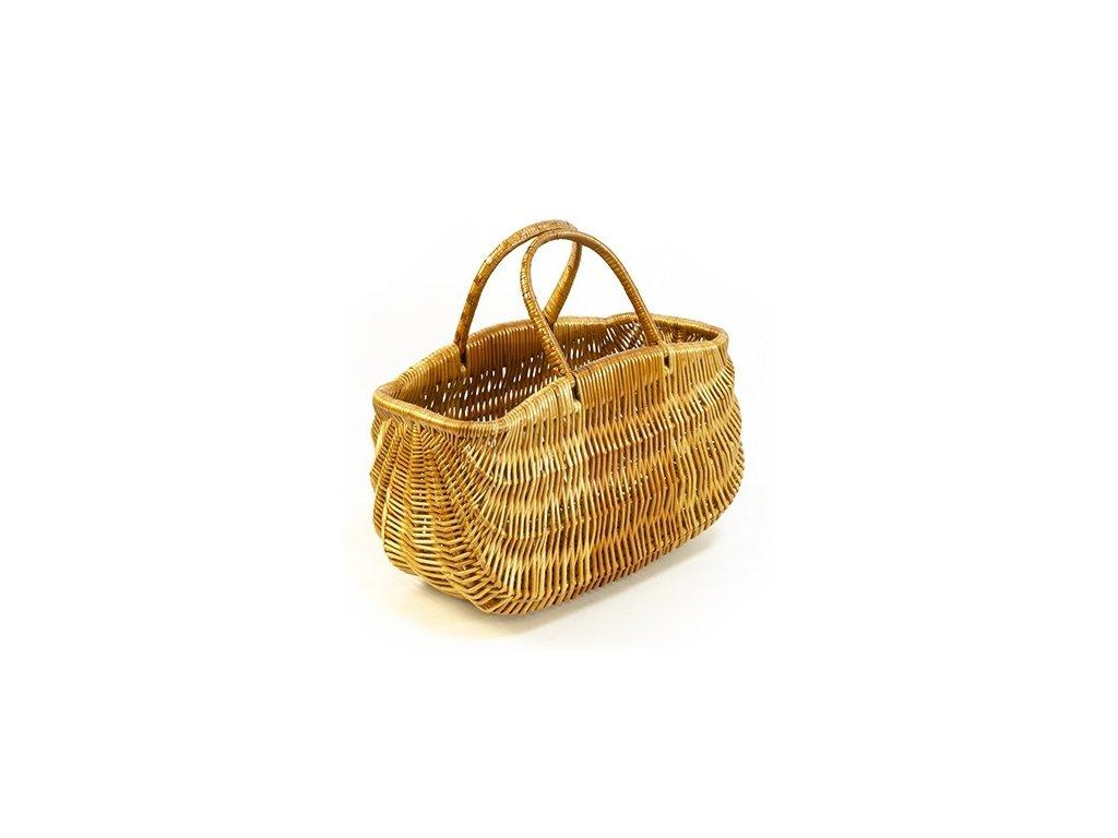 Proutěný koš taška 1