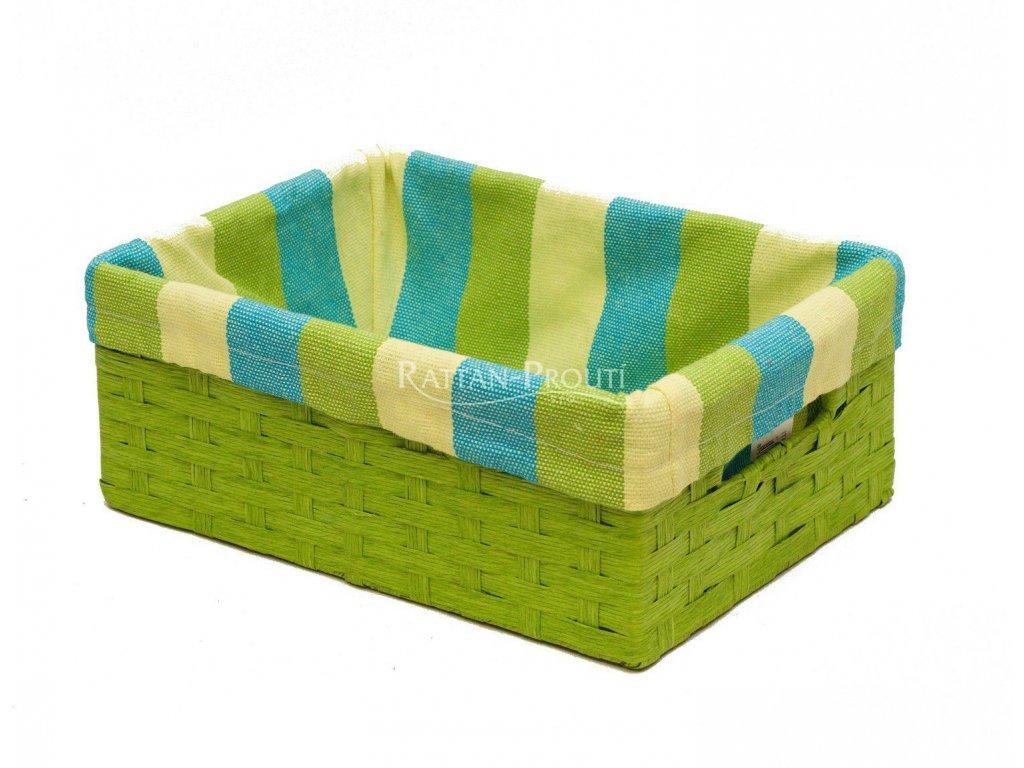 Úložný box 15x22x8 cm Zelený
