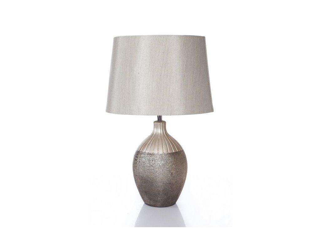Keramická lampa ANABEL 47 cm Zlatá