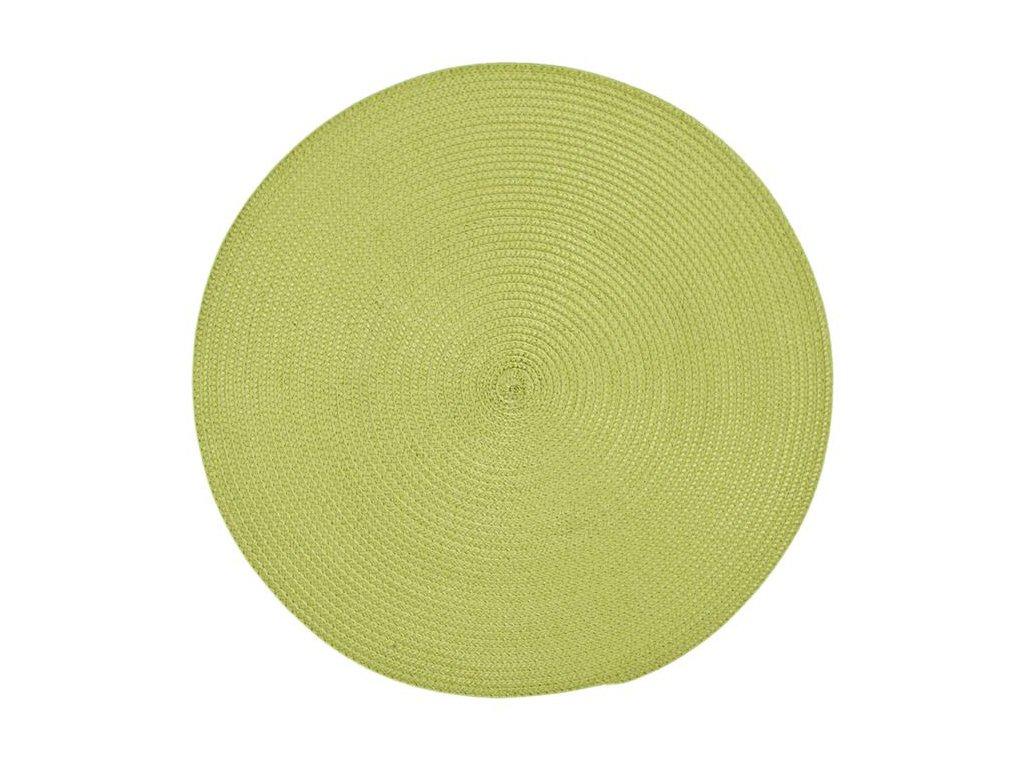 Prostírání VIVA kulaté 38 cm zelené