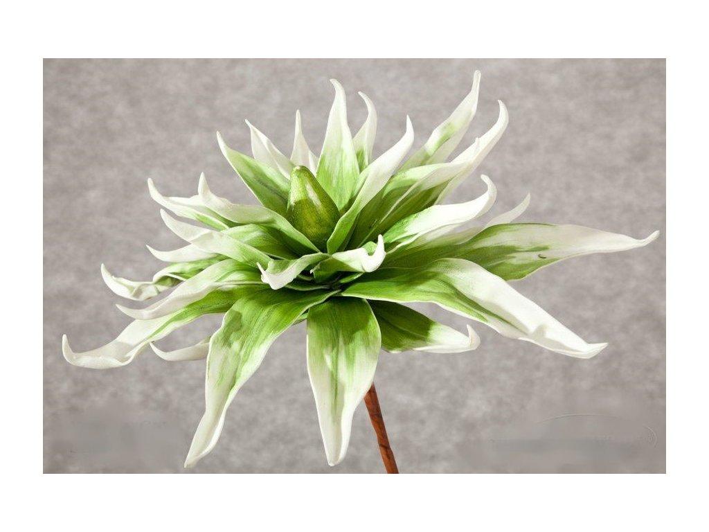 Umělá květina 09 zelená 50 cm