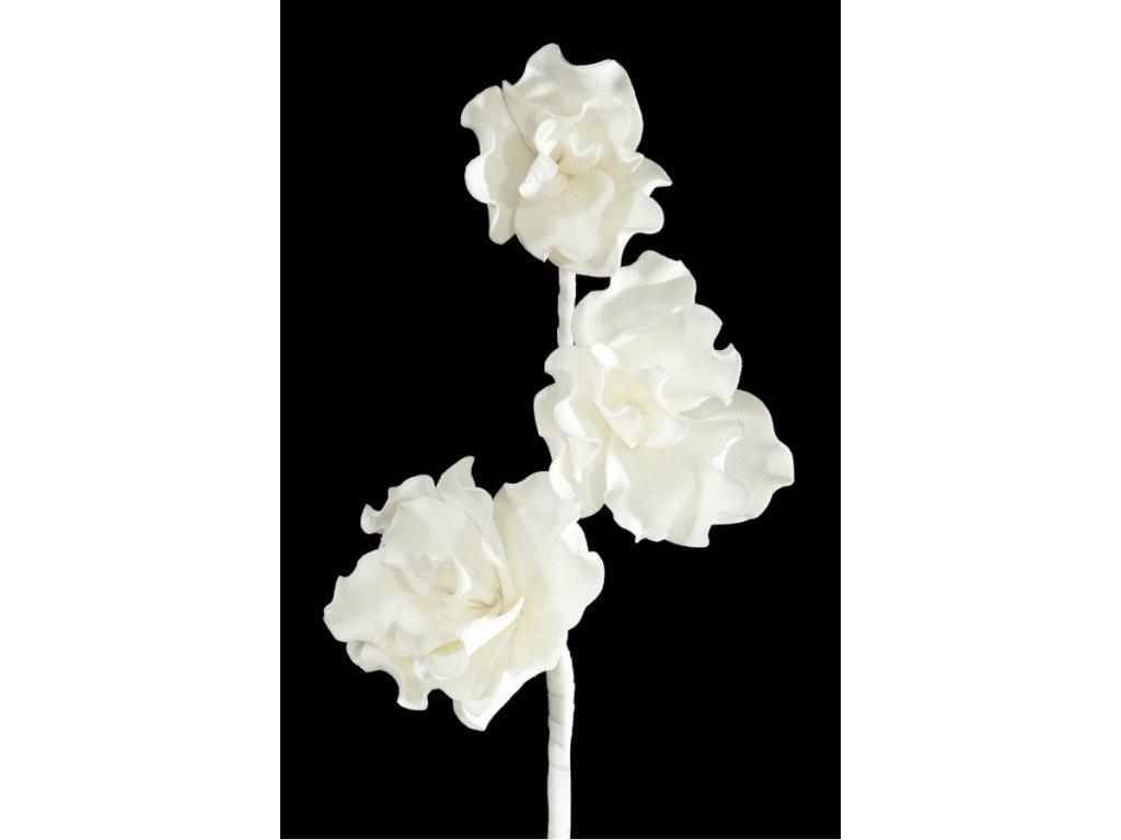 Umělá květina 229 Bílá 90cm