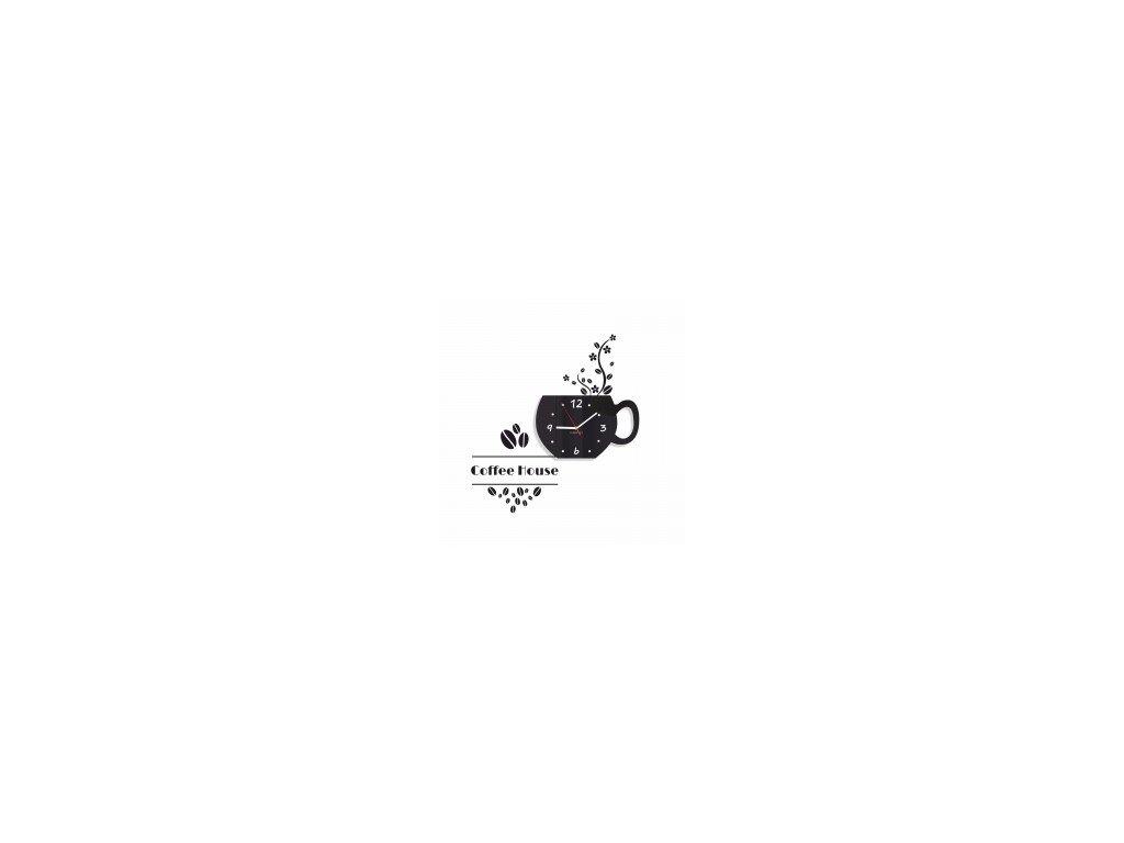 Nástěnné hodiny COFFEE HOUSE