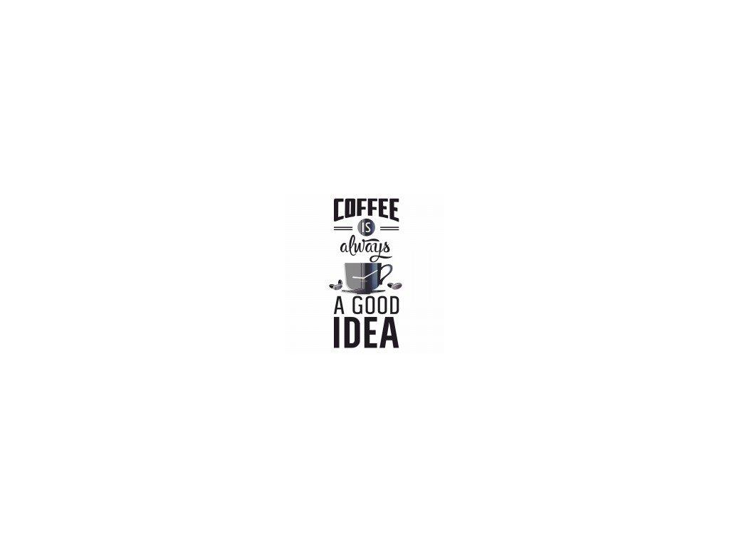 Nástěnné hodiny COFFEE IDEA