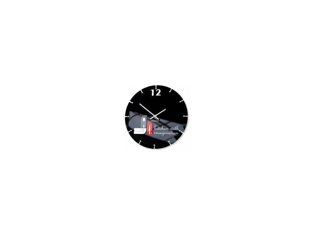 Nástěnné hodiny KITCHEN WITH IMAGINATION