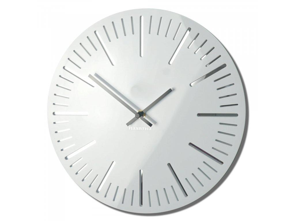 Nástěnné hodiny TRIM bílé