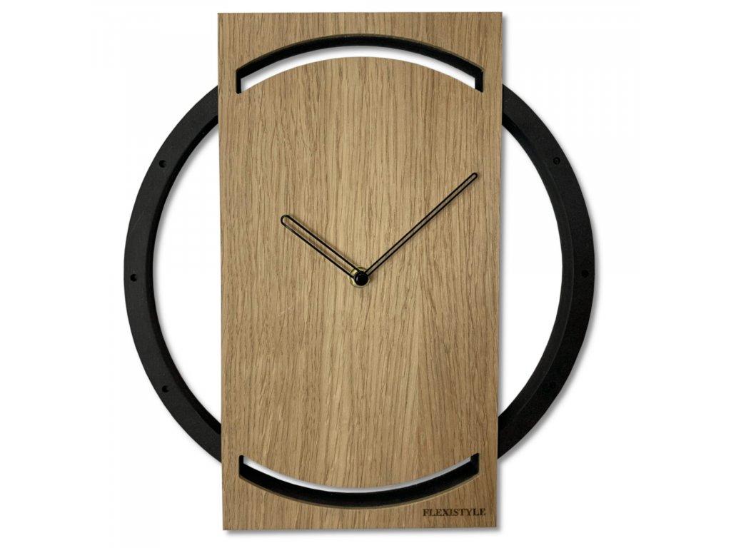 Nástěnné hodiny Wood Oak 2
