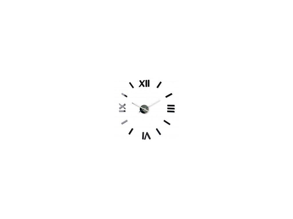 Nástěnné hodiny DIY Admirable 80cm římské