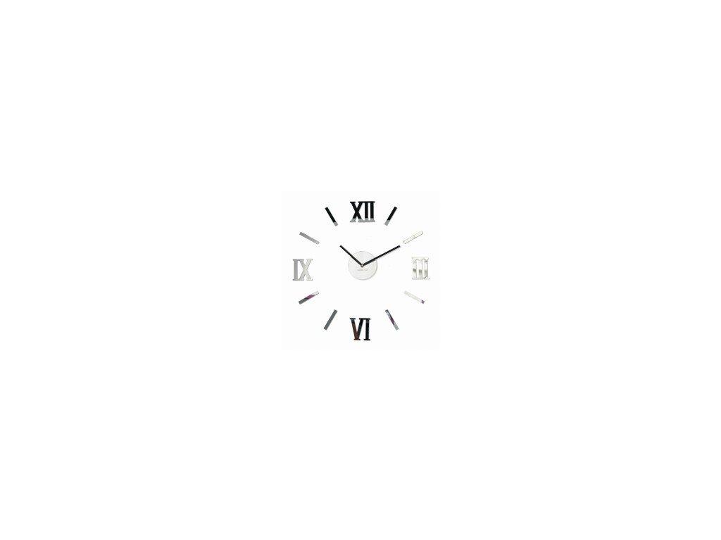 Nástěnné hodiny  DIY Admirable3 50-75cm lustro