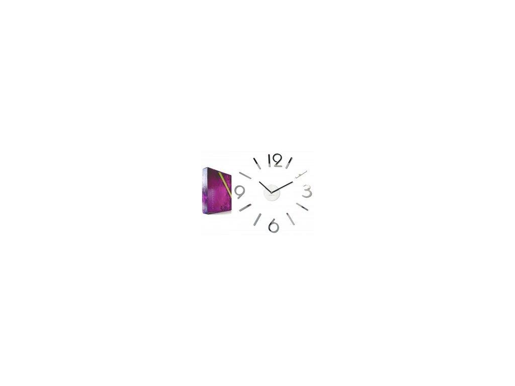 Nástěnné hodiny  DIY Admirable4 50-75 cm lustro