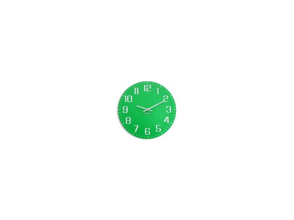 Nástěnné hodiny FACILE Zelené