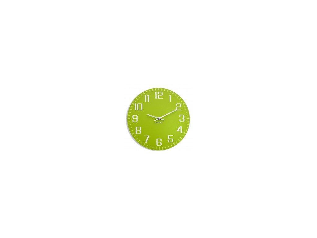 Nástěnné hodiny FACILE Olivové
