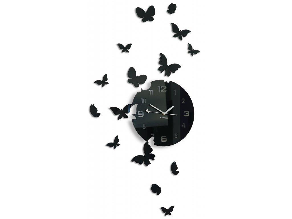 hodiny s motyly
