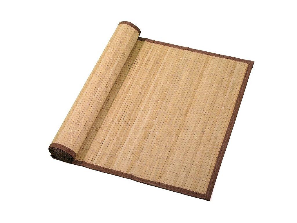 bambusová rohož hnědá matná