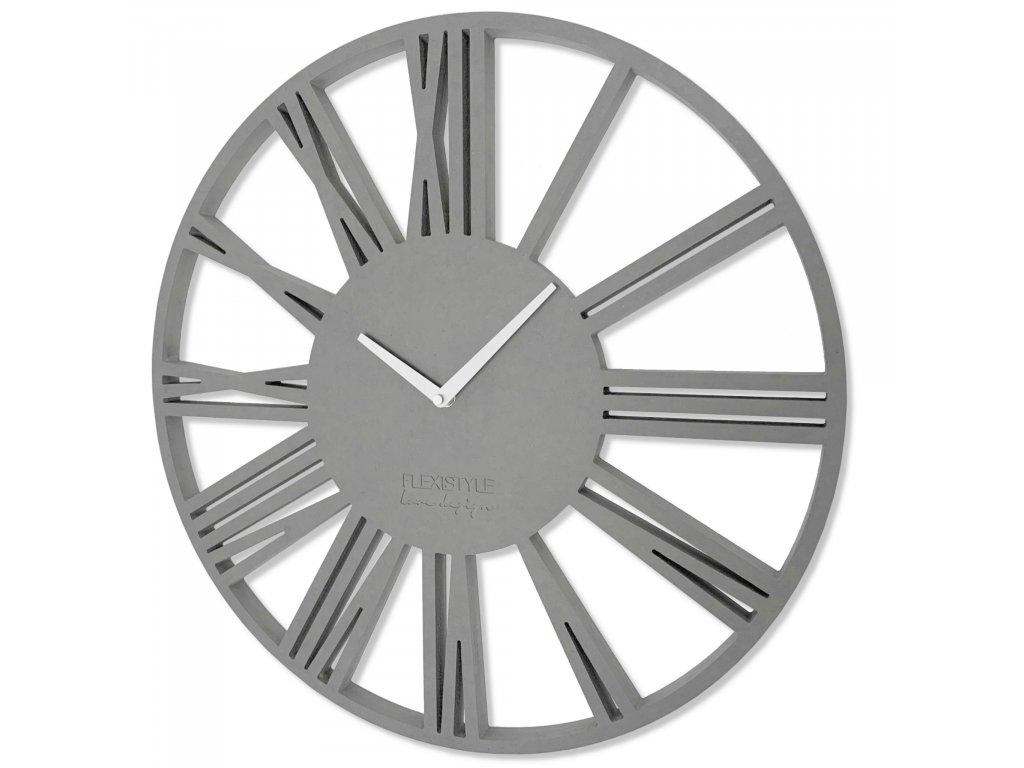 Nástěnné hodiny PICCOLO šedé
