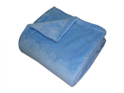Super soft deka Dadka modrá 150x200 cm